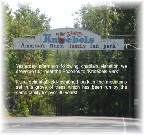 Knoebels Park Elysburg, PA 8/26/13