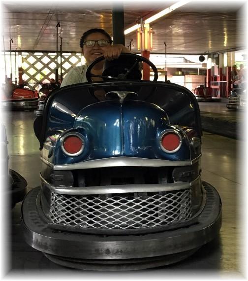 Knoebel's Park bumper cars 7/25/17