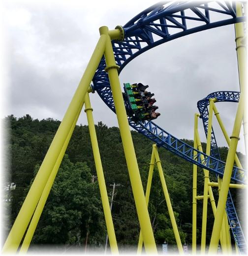 Knoebel's Park Impulse ride 7/25/17