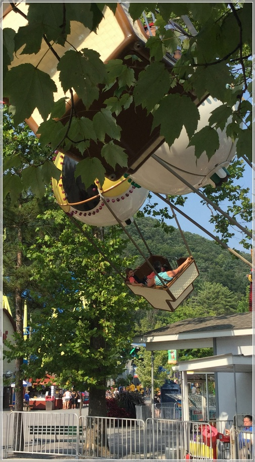 Knoebels Park ride with Lizzie 8/15/18