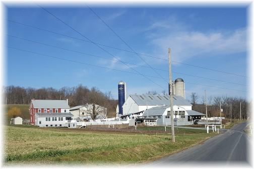 Lebanon County Amish farm 12/20/16 (Click to enlarge)