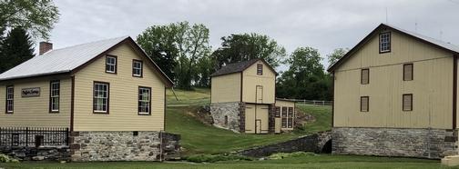 Yellow barns, Lebanon County PA 6/2/20 (Click to enlarge)