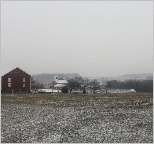 Lebanon County church in snow 1/29/19