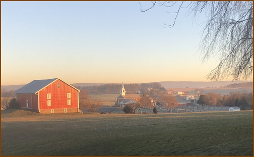 Lebanon County. PA 12/19/18 (Click to enlarge)