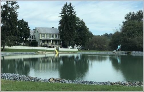 Lebanon County farm pond (10/16/18) click to enlarge
