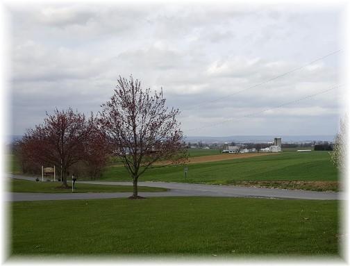 Lebanon County PA farm view 3/31/16