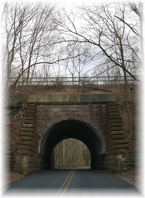 Lebanon County PA rail trail bridge 3/31/16