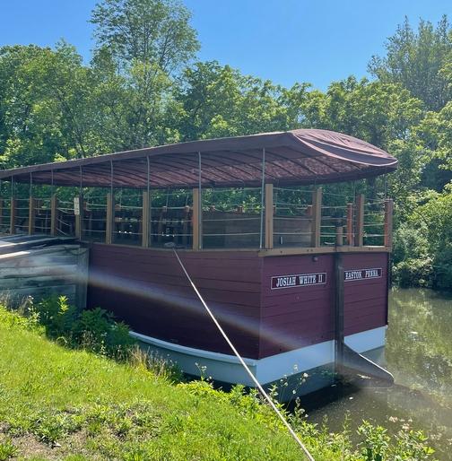 Lehigh canal boat
