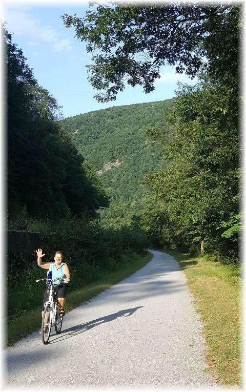 Lehigh Gorge bike ride 8/26/17