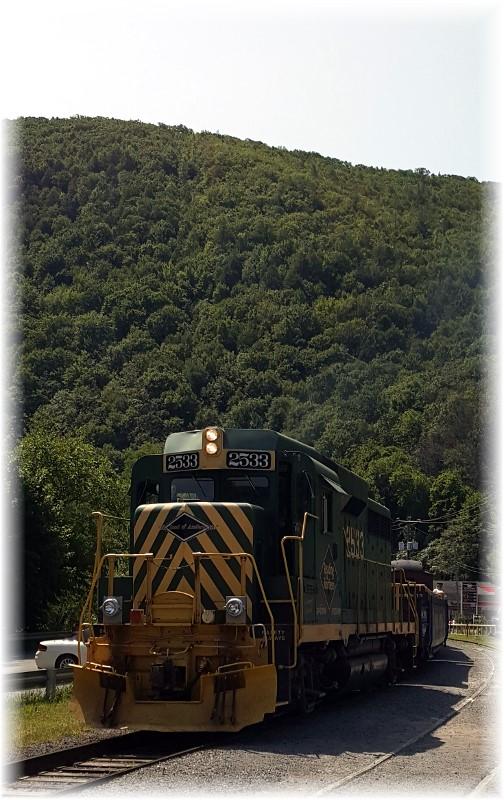 Lehigh Gorge bike train 8/26/17
