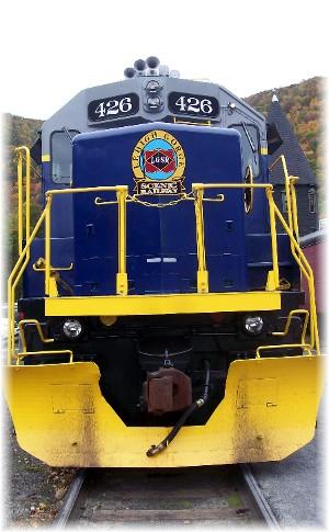 Lehigh Gorge Scenic Railway Engine