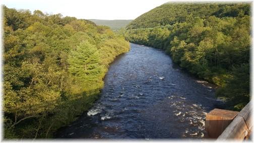 Lehigh River near Jim Thorpe, PA 8/26/17