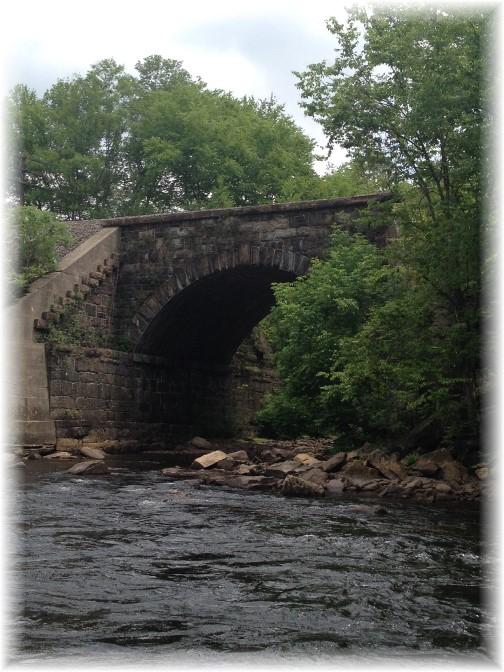 Lehigh River Gorge railroad bridge, Poconos, PA 5/30/15