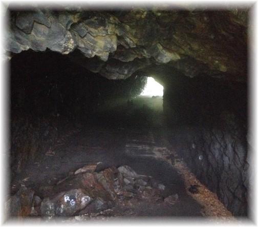 Abandoned tunnel near Jim Thorpe, PA