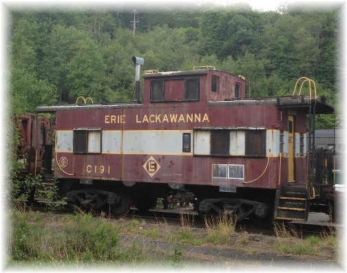 Old caboose near Jim Thorpe, PA