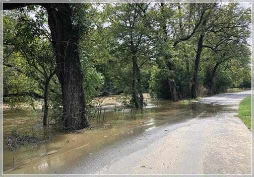 Little Swatara Creek flooding 8/13/18