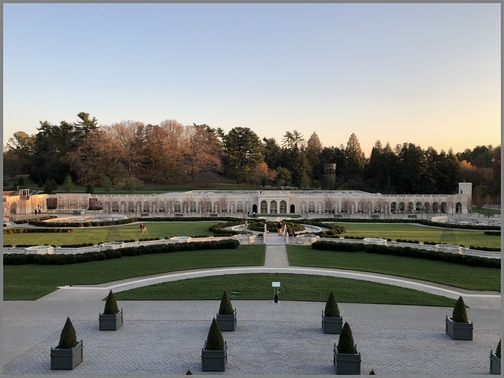 Longwood Gardens fountain 11/11/18