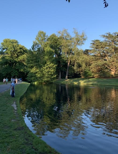 Longwood Gardens pond 8/10/19
