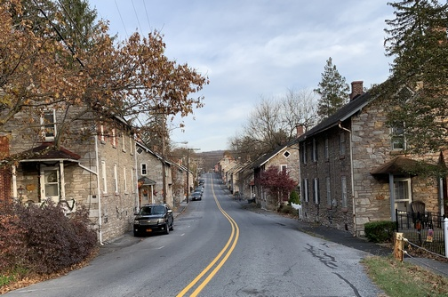 Miner's Village, Cornwall, PA 11/15/19 (Click to enlarge)