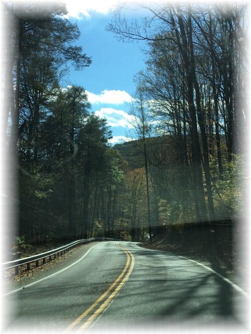 Moonshine Road in Lebanon County 10/31/17