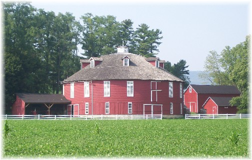 Neff Round Barn in Centre County PA