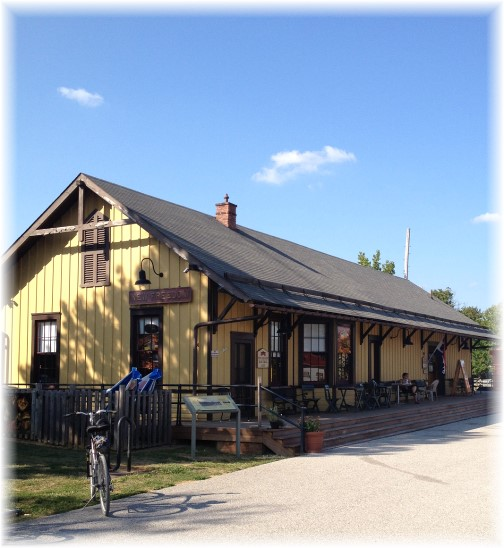 New Freedom station on York Heritage Rail Trail 9/8/15