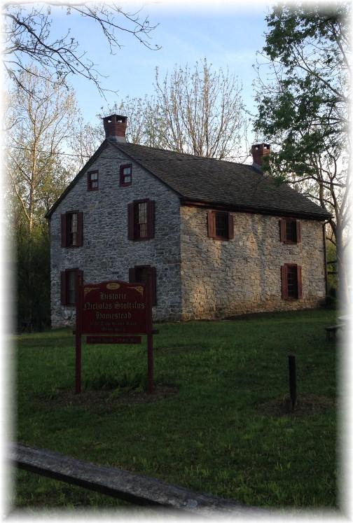 Nicholas Stoltzfus homestead in Berks County PA