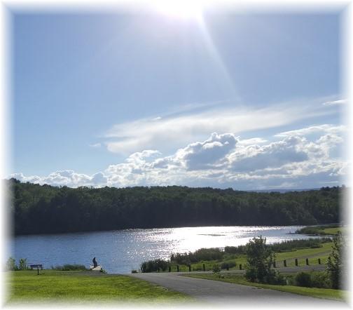 Opposum Lake in Cumberland County PA