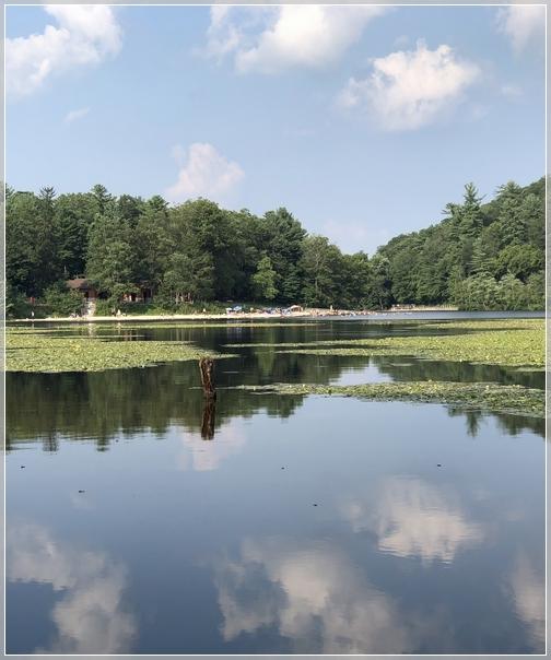 Laurel Lake in Pine Grove Furnace State park 8/5/18