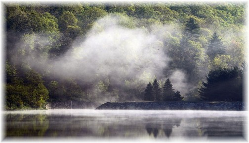 Poe Valley Lake, Centre County, PA (photo by Greg Schneider)