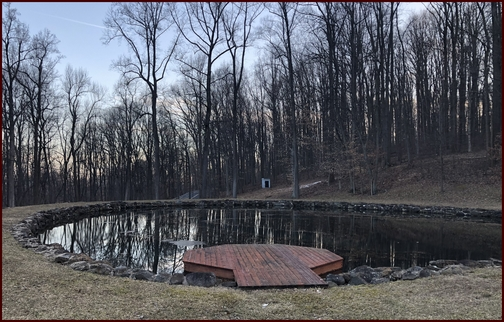 Pond on PA Rt 117, Lebanon County, PA 2/26/19 (Click to enlarge)