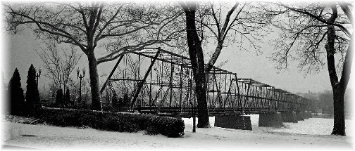 Railroad bridge in Pennsylvania