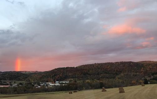Rainbow near Mansfield, PA