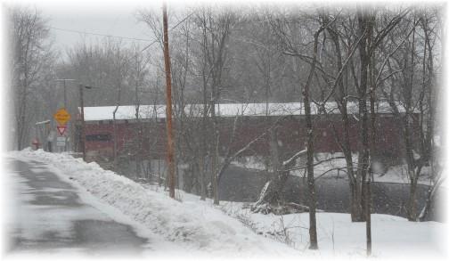 Ramp Covered Bridge, Cumberland County, PA 2/9/14