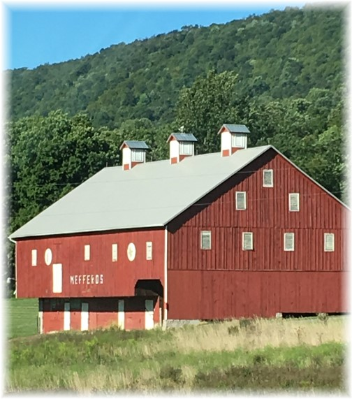 Red barn (Photo by Linda Trago)