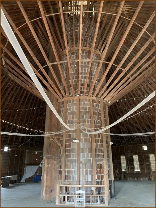 Round barn loft near Gettysburg, PA 4/29/19