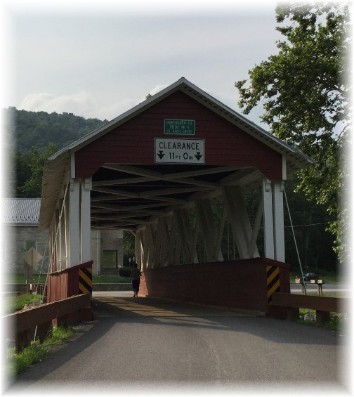 Saint Marys Covered Bridge, Huntingdon County, PA 7/5/15