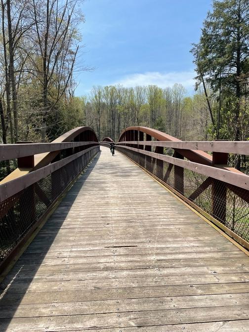 Sand Siding Trail Bridge