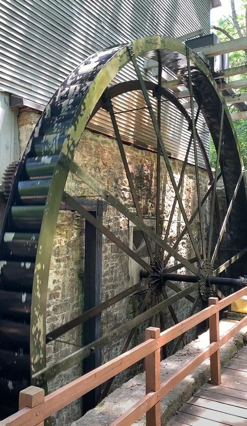 Shoaff's Mill water wheel