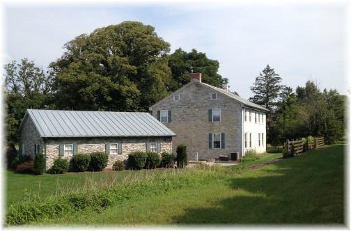 Cumberland Valley stone farmhouse