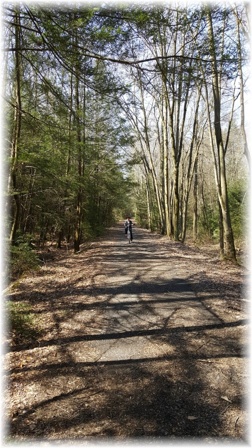 Stony Valley rail trail 4/11/17
