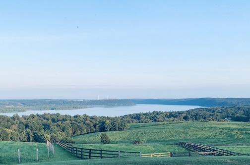 Susquehanna River from Lauxmont farm 8/17/19