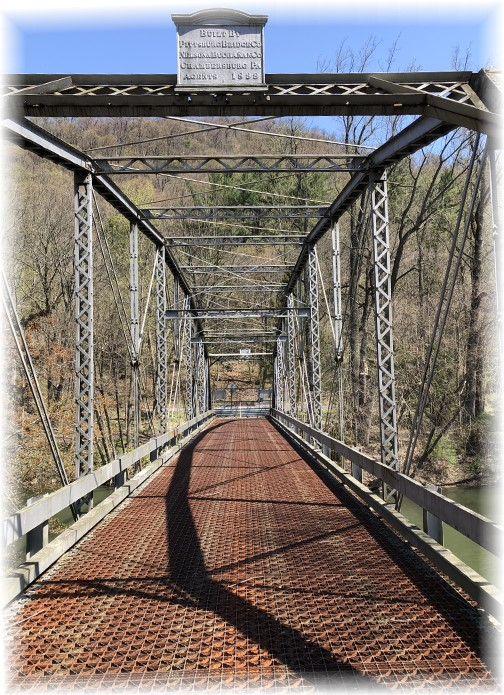 Swatara Creek bridge 5/1/18