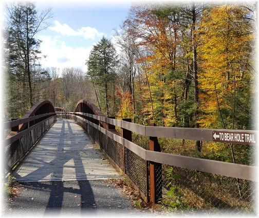 Swatara Creek bridge in Swatara State Park 10/31/17
