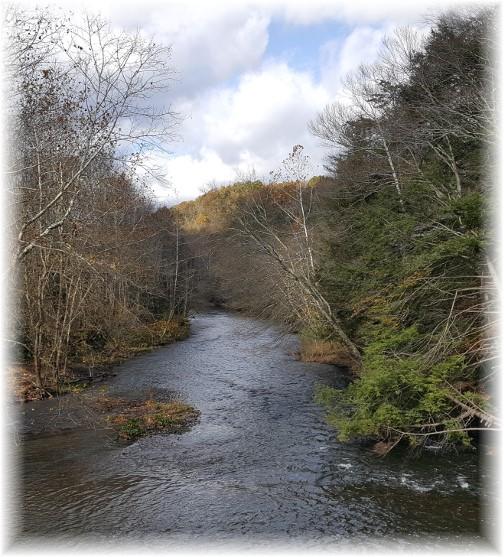 Swatara Creek in Swatara State Park 10/31/17