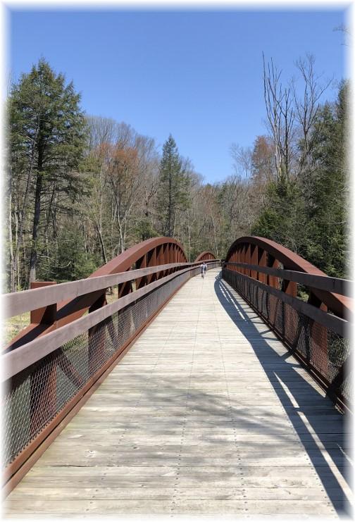Swatara Rail Trail bridge 5/1/18
