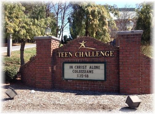 Teen Challenge, Rehersburg, PA