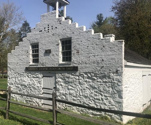 Thaddeus Stevens Blacksmith Shop, Franklin County, PA 04/29/19