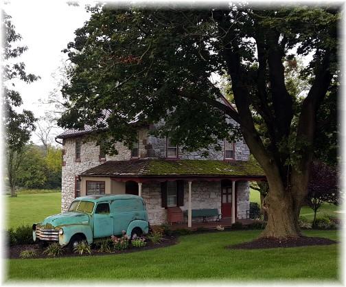 Tulpehocken Manor spring house 9/12/17