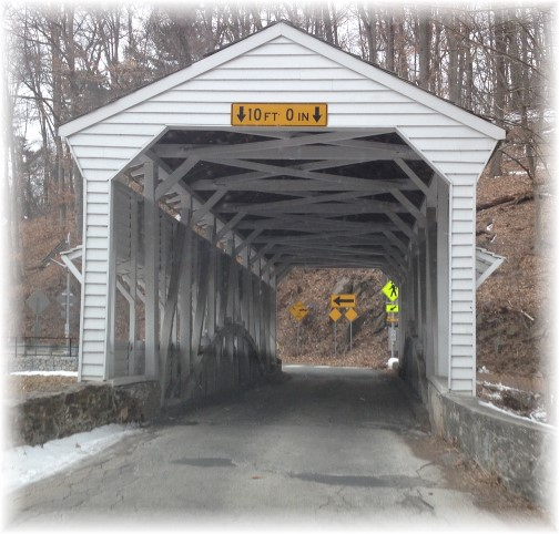 Valley Forge covered bridge 3/1/15